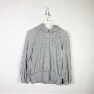 Free People Semi-Cropped Hoodie